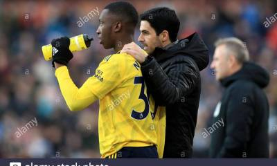 Uncle of Eddie Nketiah reveals striker's strong bond with Arteta