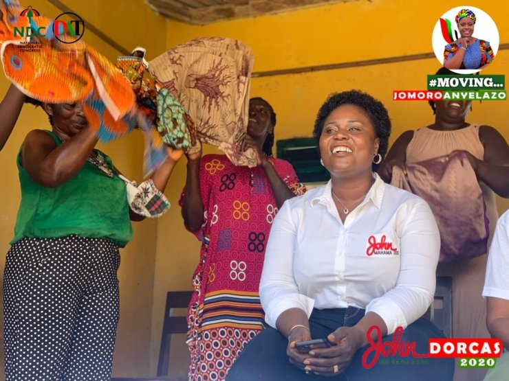PHOTOS: 28 'serious' pictures of 'heavily endowed' Jomoro MP Dorcas Affo-Toffey that will blow your mind and MORE 21