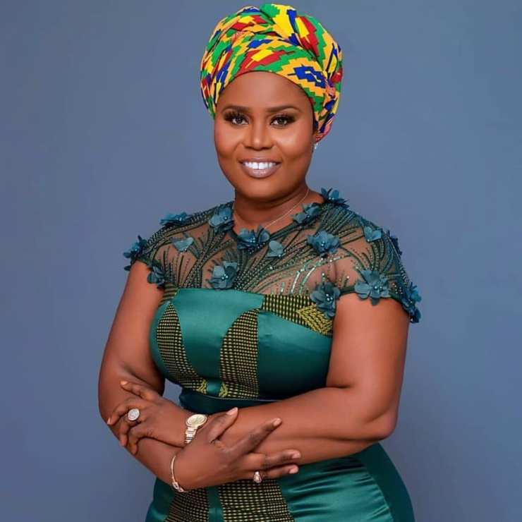 PHOTOS: 28 'serious' pictures of 'heavily endowed' Jomoro MP Dorcas Affo-Toffey that will blow your mind and MORE 10