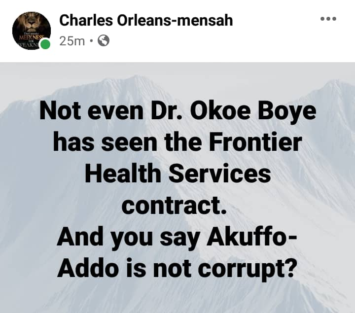 Ghanaians finger Akufo-Addo as all his top officials deny knowledge of $150 Airport Antigen contract 17