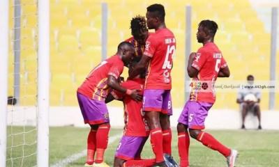 GPL: Hearts of Oak reclaim third spot with win over Aduana Stars
