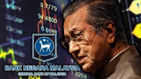Misteri Mahathir 'Bisu' Meskipun BNM Rugi Mega