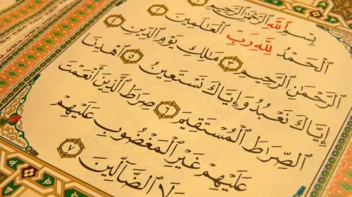 Kelebihan Surah Al-Fatihah