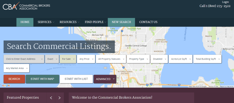 commercialmls Websites to Search for Commercial Real Estate