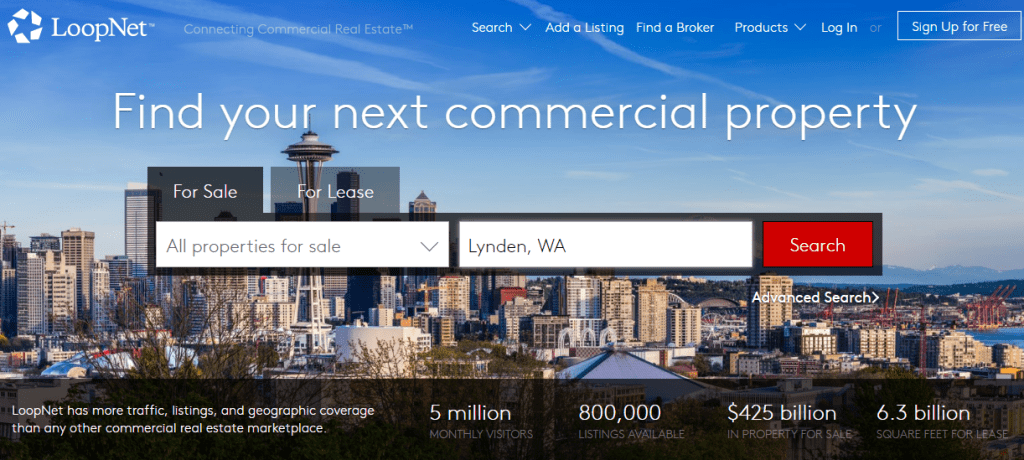 loopnet Websites to Search for Commercial Real Estate