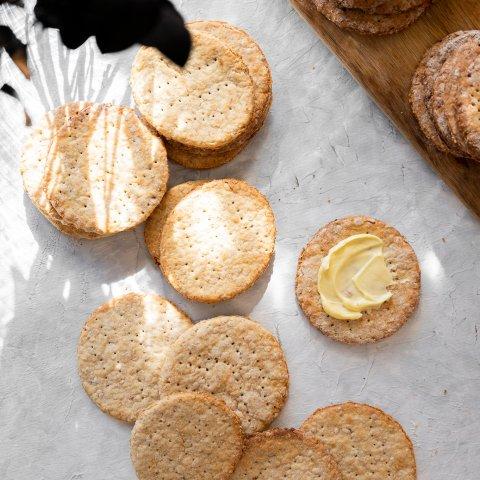 Havrekjeks | Grandma's Oatmeal Cookies from 1938