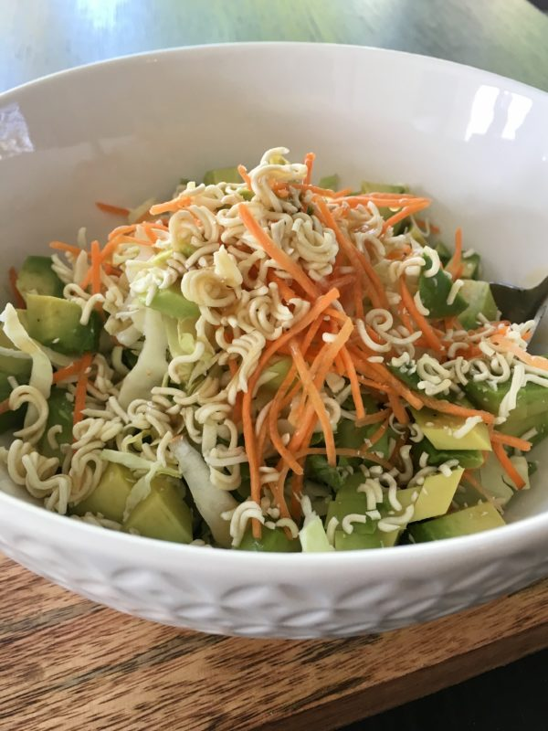 Ramen Noodle Salad – My Secret Snack