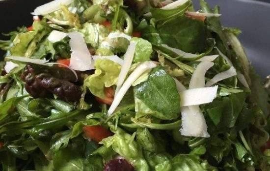 House Salad with Balsamic Vinaigrette