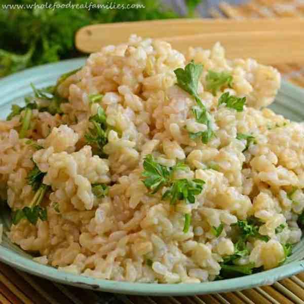 Herbed Brown Rice