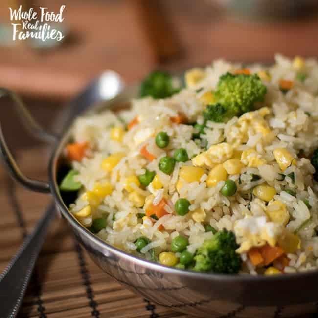 Healthy Veggie Rice Recipe