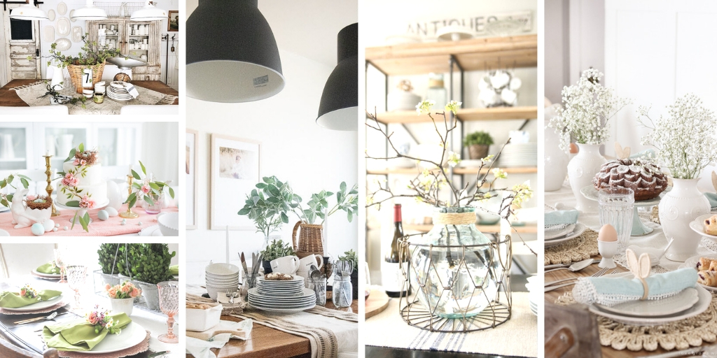 Dining Table Decor For Spring My Nourished Home
