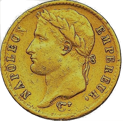 20 Francs Napoleon I guldmynt - Louis d'or