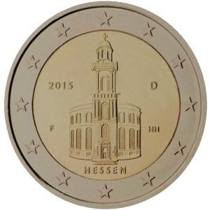 2 euro Hessen delstat