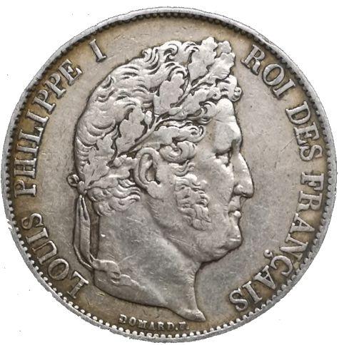 5 Francs Ludvig Filip I