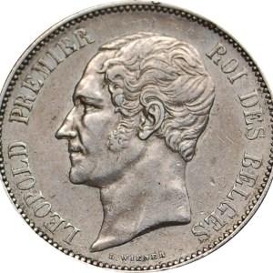 5 Francs Leopold I