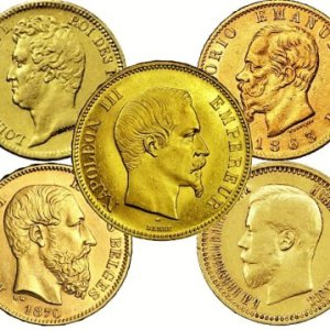 Abonnemang med guldmynt