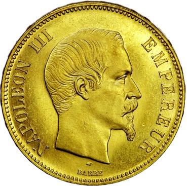 Napoleon III 20 Francs or