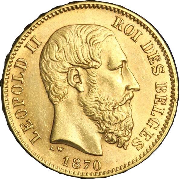 Pièce en or Léopold II