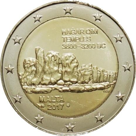 2 euro Malta Hagar Qim