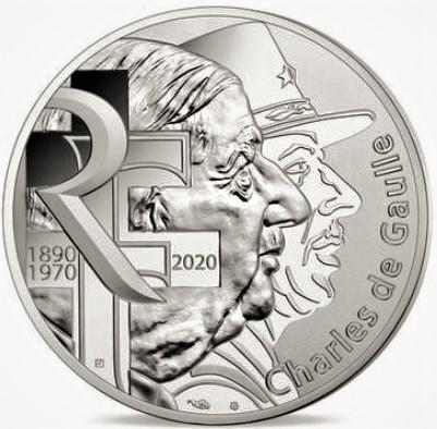 10 euro Charles de Gaulle