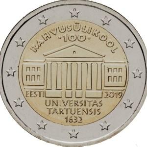 2 euro Tartu 2019