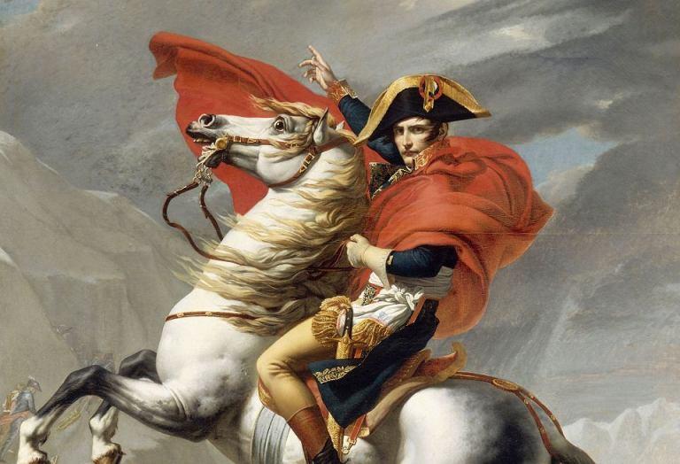Listan med alla mynt som pryder Napoleon I