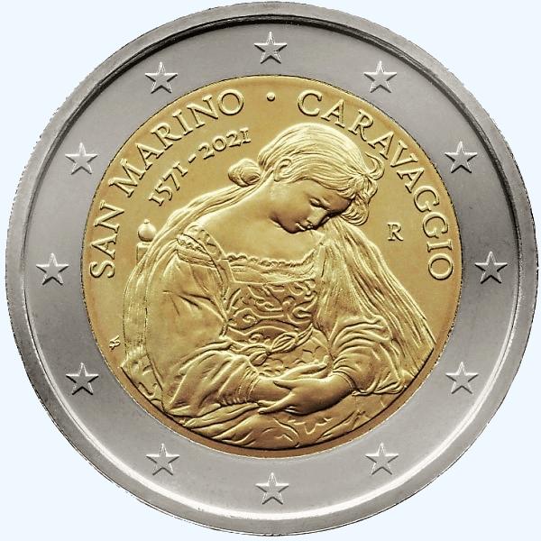 San Marino 2021 Caravaggio