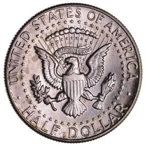 Halv dollar John F Kennedy