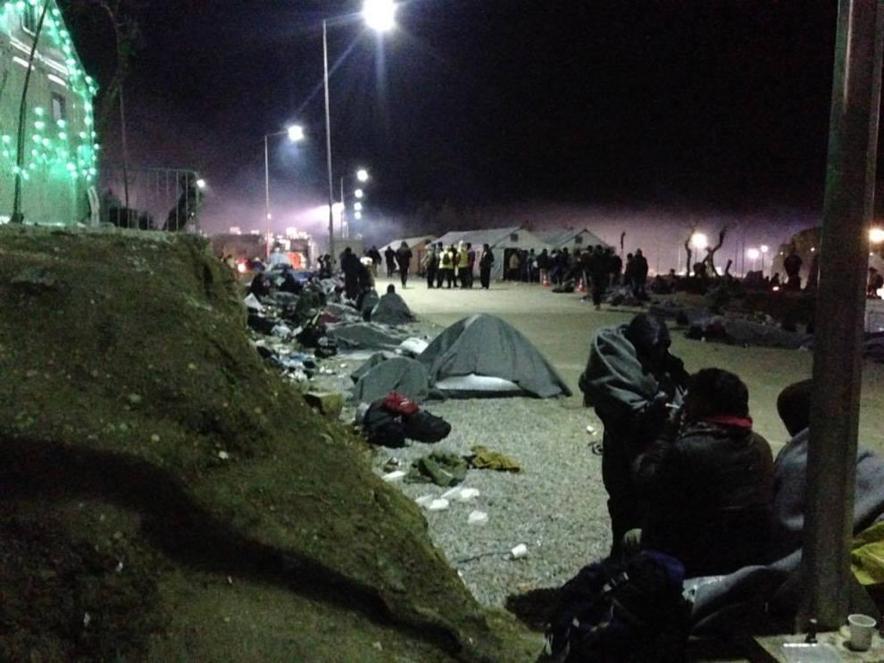 Moria Camp, Lesvos, January 2016, Benjamin Gow 6