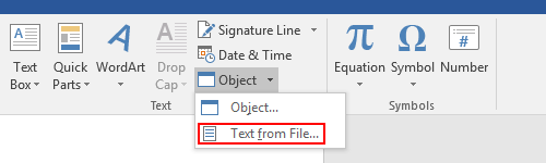 How to Merge the Content of Multiple Documents in MS Word