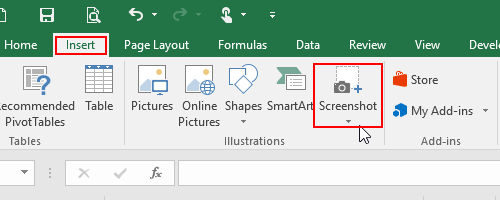 How to Capture a Screenshot with Microsoft Office Apps