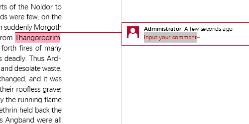 How to Insert or Delete a Comment to Specific Text in Word