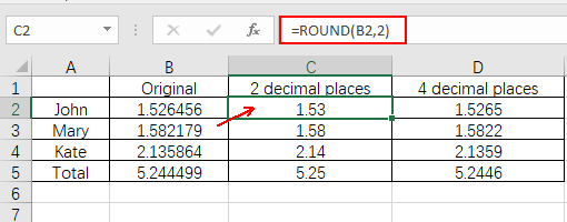 How to Round Numbers Up or Down in Microsoft Excel