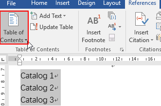 How to Create a Table of Contents Automatically in Word