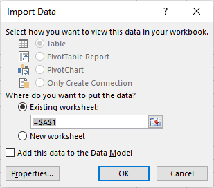 How to Import Data from TXT to Excel