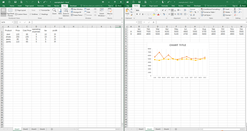 How to Compare Two Excel Worksheets Side by Side