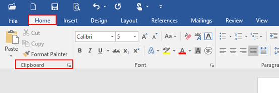How to Clear the Contents of the Clipboard in Microsoft Word