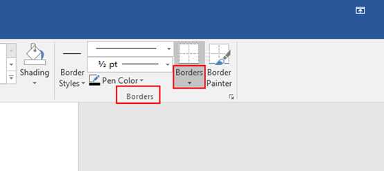 How to Remove the Borders from a Table in Microsoft Word