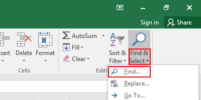 How to Search Data in Microsoft Excel