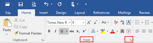 How to Adjust the Space between Text and Underline in Microsoft Word