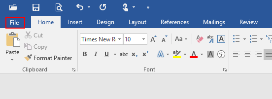 How to Turn Off and Activate Paste Options Button in Microsoft Word