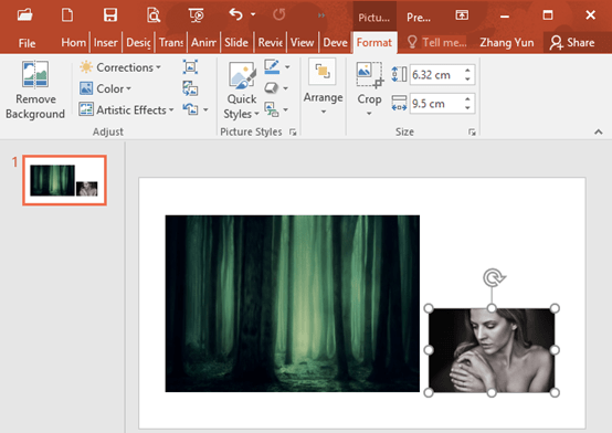 How to Make Double Exposure Photo in Microsoft PowerPoint