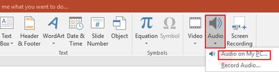 How to Insert or Delete a Sound in PowerPoint Presentation