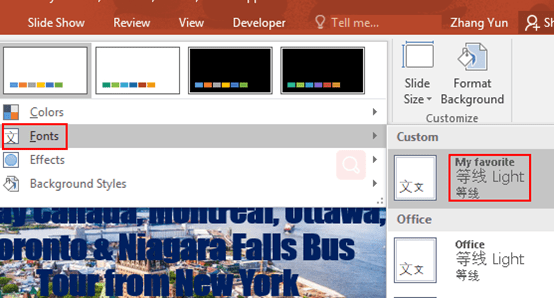 How to Create a New Theme Font in PowerPoint