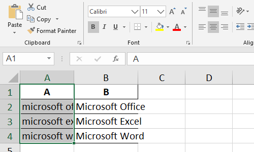 How to Autofit the Column Width with the Content in Excel