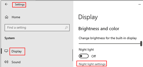 How to Turn On Night Light Mode of Windows 10