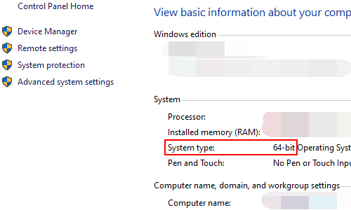 How to Check Whether Your Computer is 32-bit or 64-bit