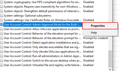 How to Get the Admin Approval Mode Enabled in Windows 10