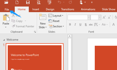 How to Quick Save All the PowerPoint Slide as Image Files