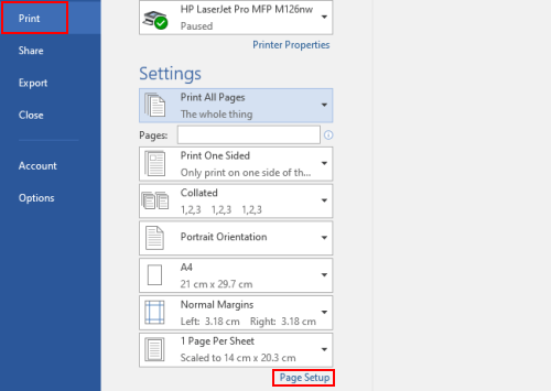 How to Print Two or Multiple Pages on the Same Paper in Word